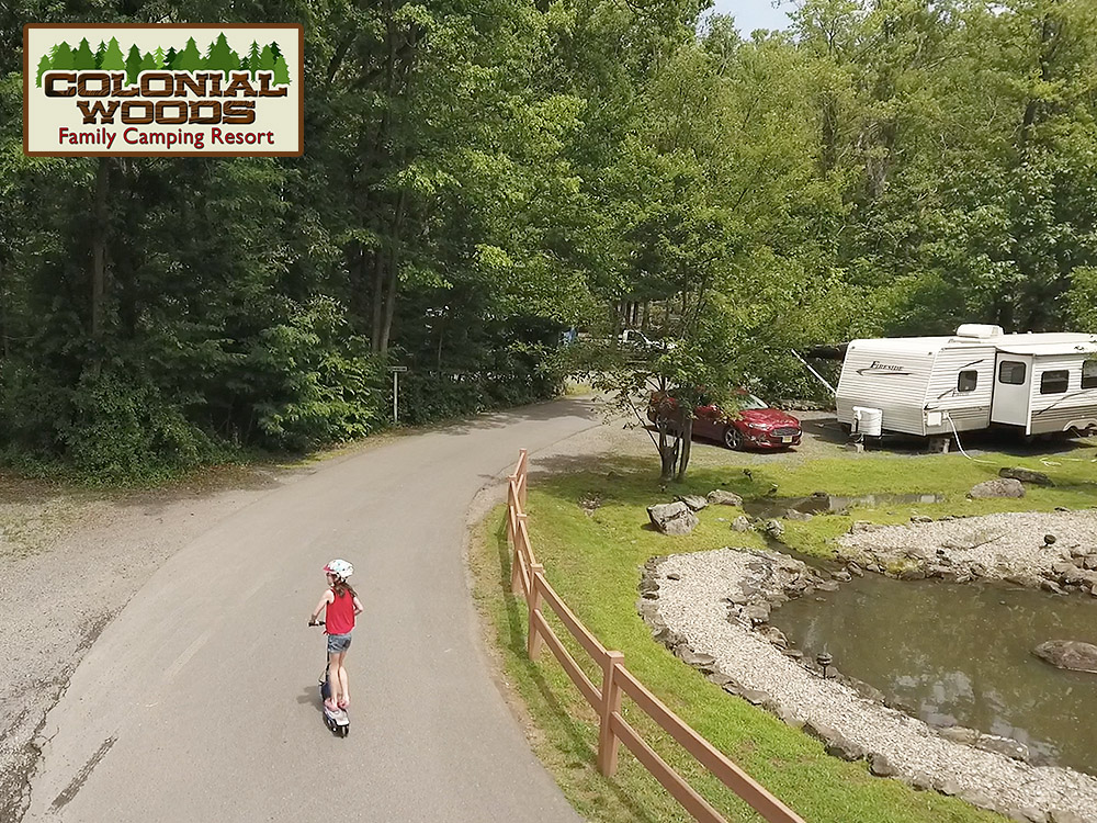 Colonial Woods Gallery Pennsylvania Family Camping 22